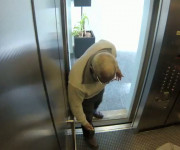 Een moord in een lift